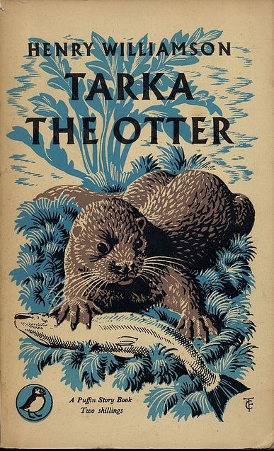 Tunnicliffe, Tarka the Otter cover