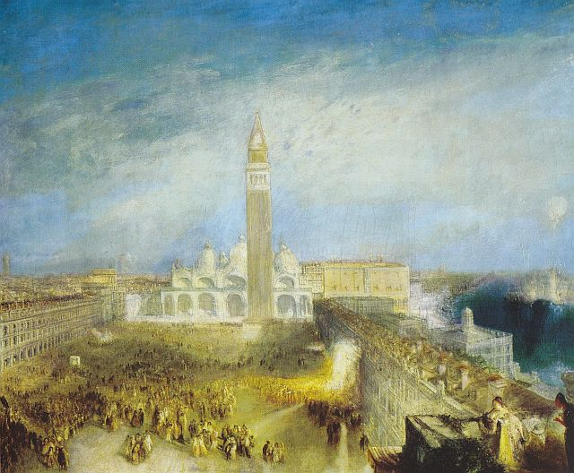 Turner, St Mark's Place Juliet and her Nurse, 1836