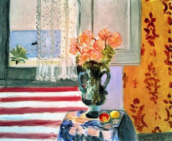 Vase of Flowers in front of the Window, 1924