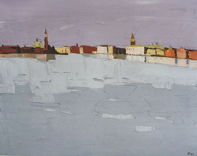 Venice (from the gardens), 1979