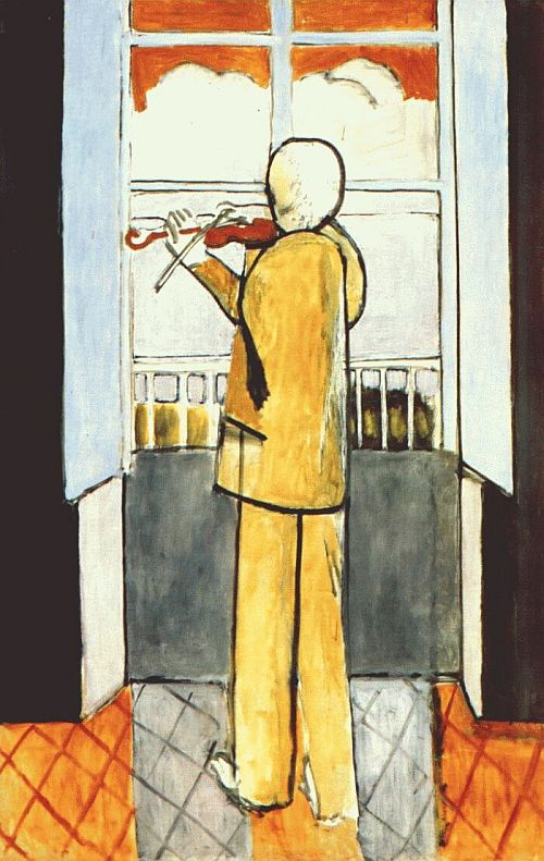 Violinist at the Window 1918