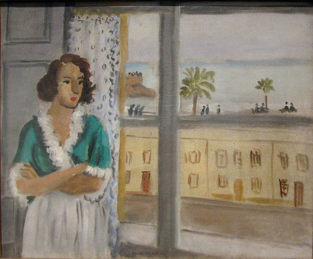 Woman at a Window, 1921