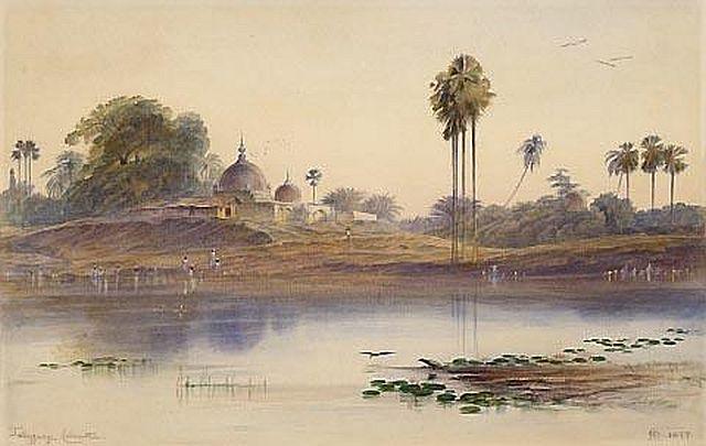 Alphonse Osbert, Palms on the Bank of the Congo, 1900