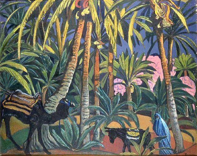 Andre Sureda, L'oasis, Djerba, 1925