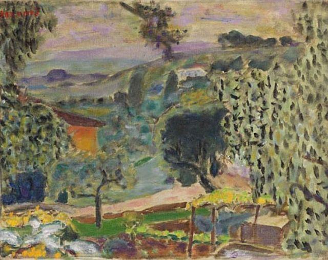 Bonnard, Paysage du Cannet