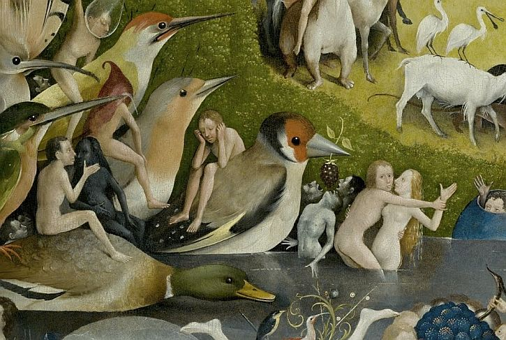 Bosch, Garden of Earthly Delights, detail
