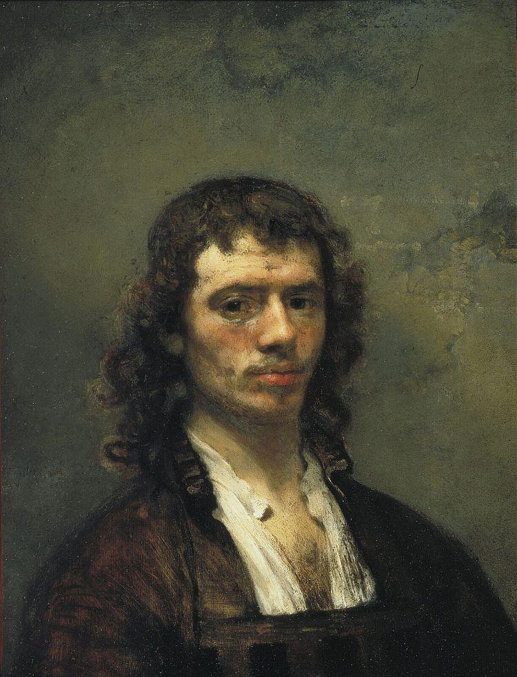 Carel Fabritius, Self portrait,1650