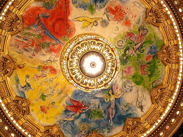 Ceiling Paris Opera