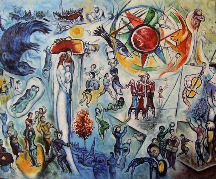 Chagall, La Vie