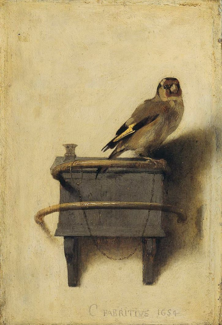 Fabritius, The Goldfinch,1654