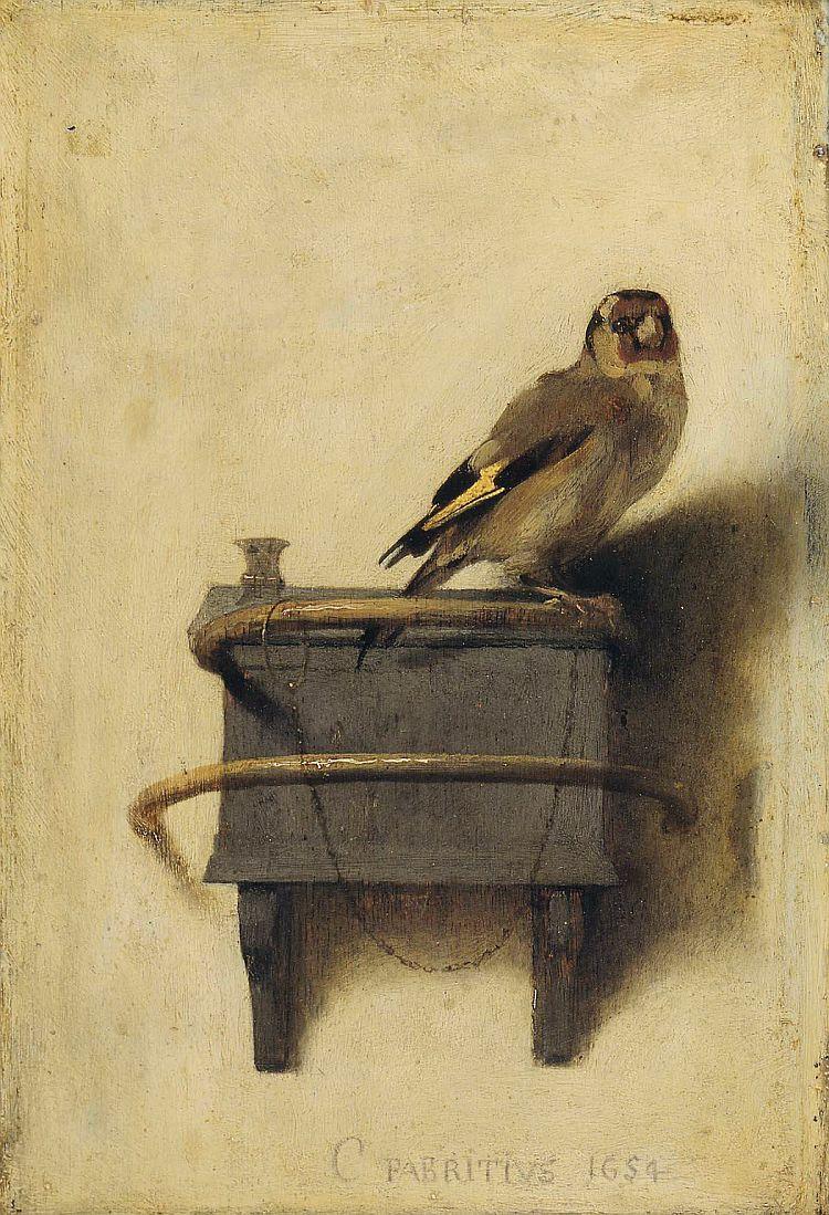 Fabritius, The Goldfinch,1654