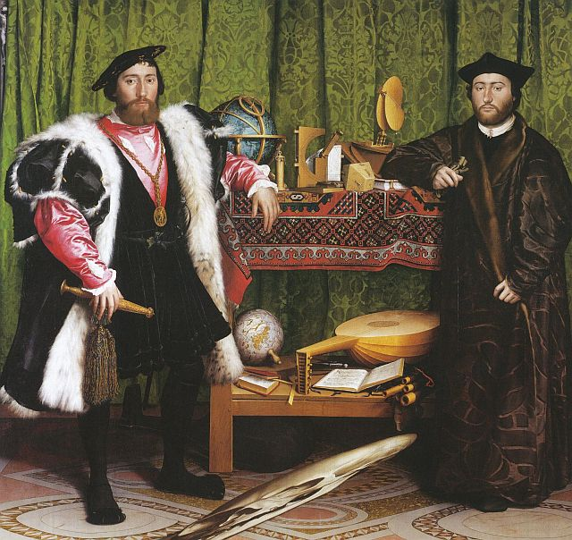 Hans Holbein, The Ambassadors, 1533