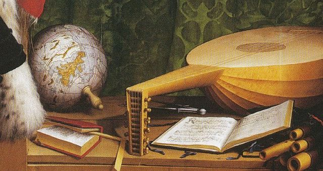 Hans Holbein, The Ambassadors (detail)
