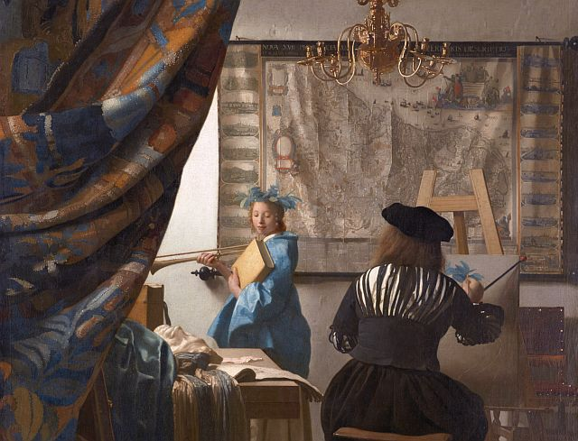 Jan Vermeer, The Art of Painting, 1666