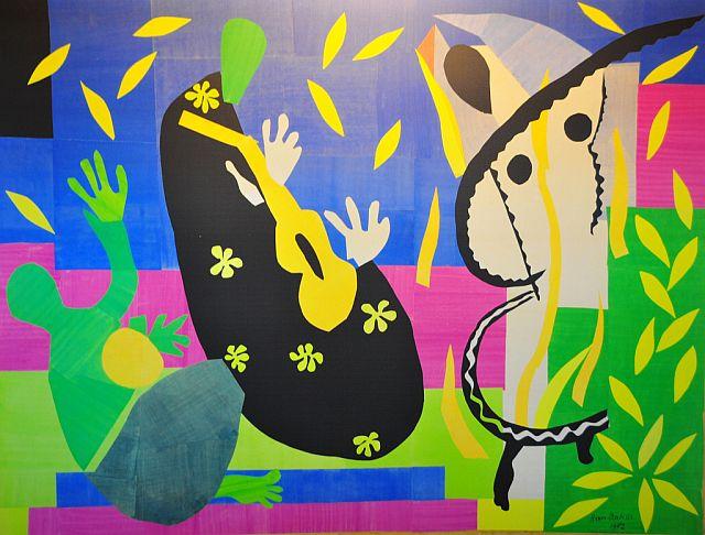 Henri Matisse - La Tristesse du roi, 1952
