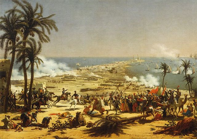 Louis Lejeune, The Battle of Aboukir, 1799