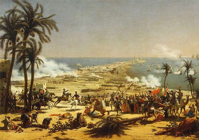 Louis Lejeune, The Battle of Aboukir, 1799