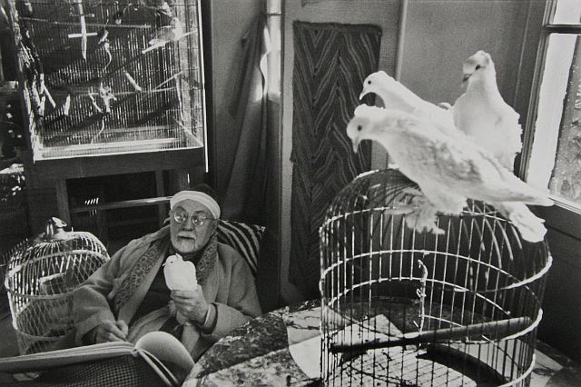 Matisse at the Hotel Reginaby Henri Cartier-Bresson