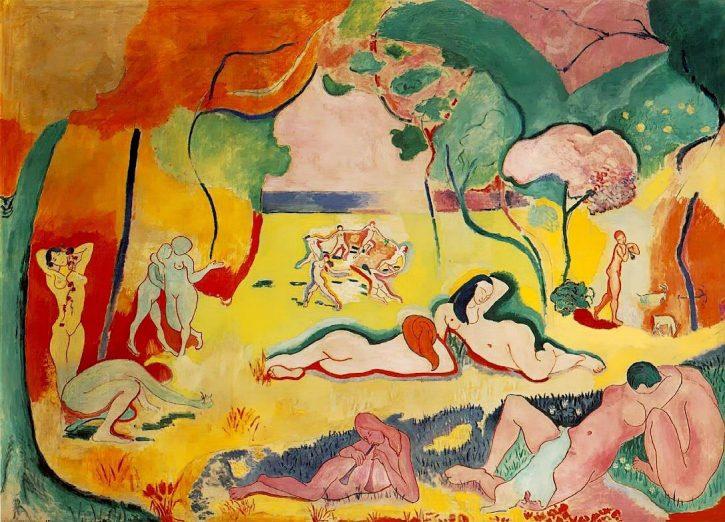 Matisse, Bonheur de Vivre, 1905-6
