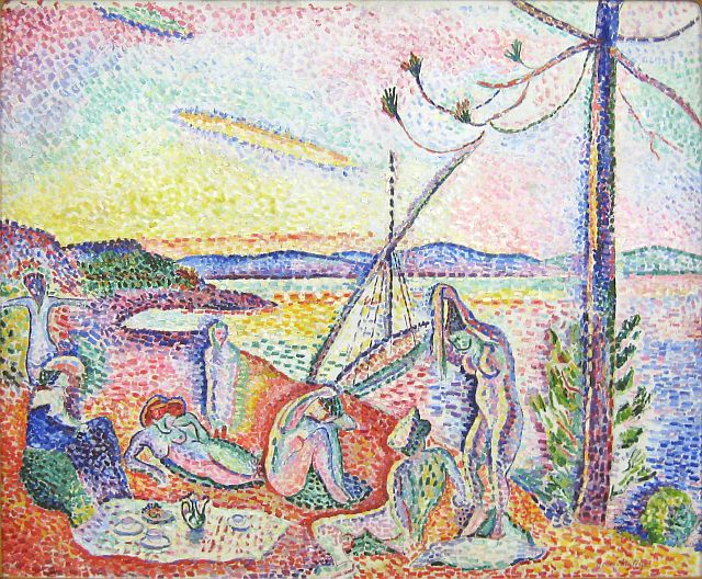 Matisse-Luxury, Calm and Pleasure, 1904
