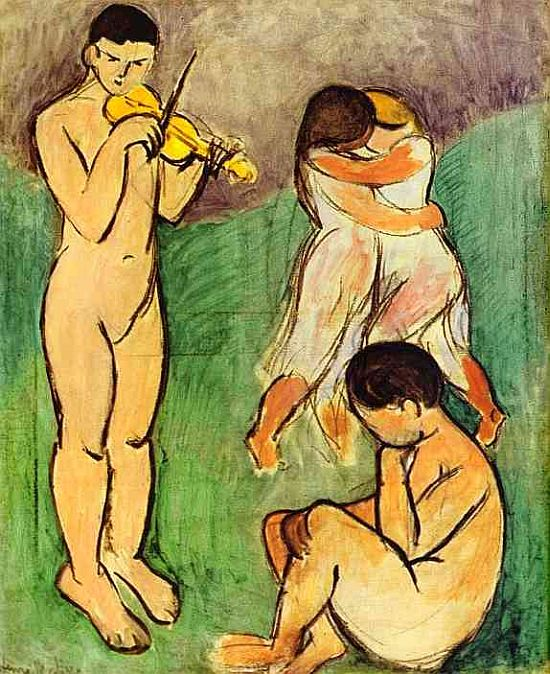 Matisse, Music (Sketch)