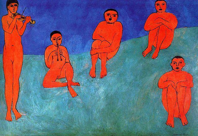 Matisse, Music,1910