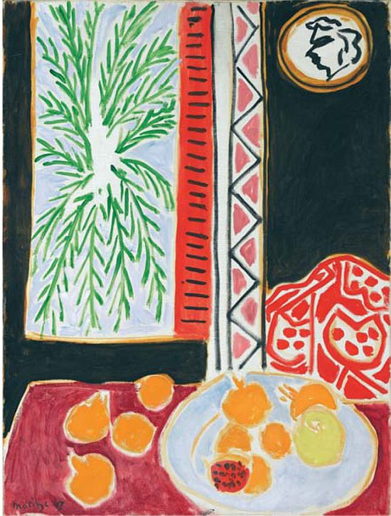 Matisse, Still life with Pomegranates, 1947