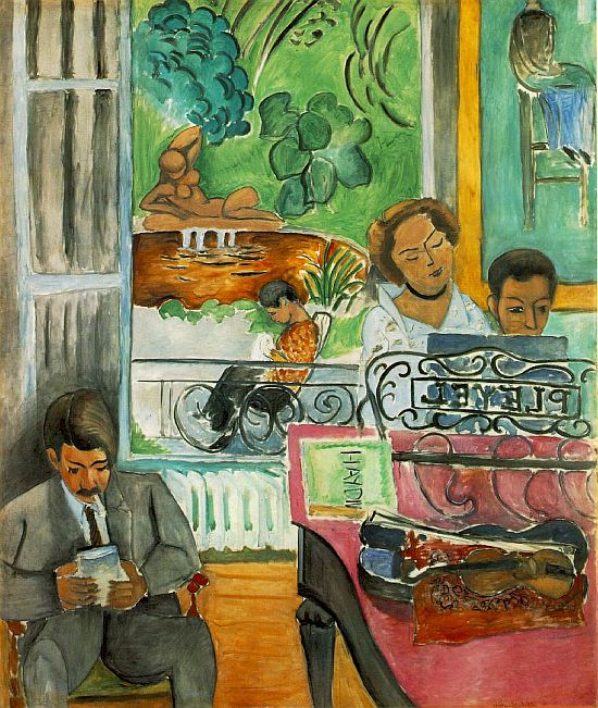Matisse, The Music Lesson, 1917