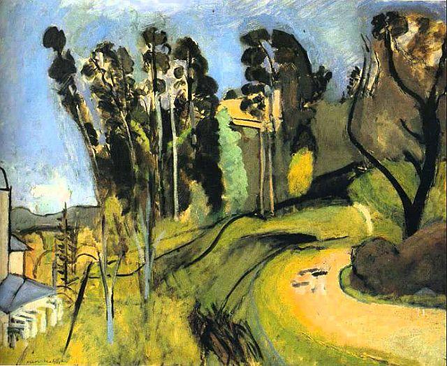 Mont Alban landscape 1918