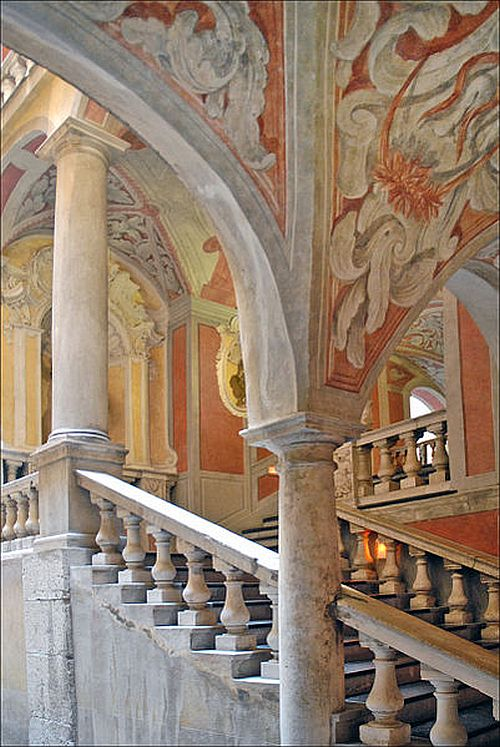 Palais Lascaris staircase