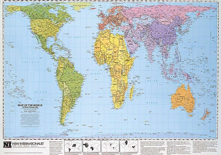 A brief look at map projections