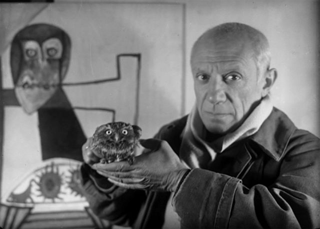 Picasso and owl