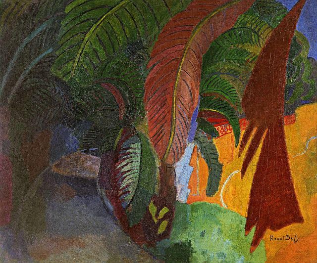 Raoul Dufy, Palm Trees At Martigues (Homage To Gauguin) 1910