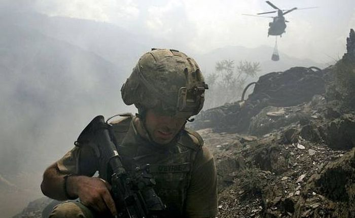 Tim Hetherington's soldiers: 'You never see them likethis'