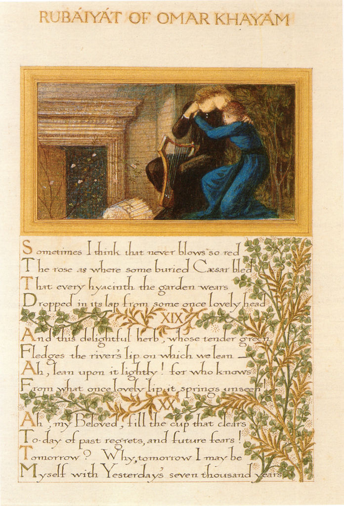 Rubaiyat illustrated by William Morris_Burne-Jones