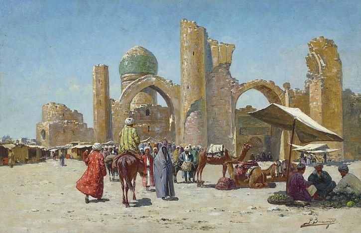 Samarkand, Richard Karl Karlovich Zommer, 1910