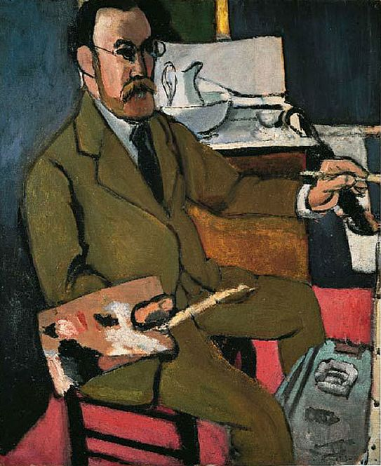Self portrait 1918