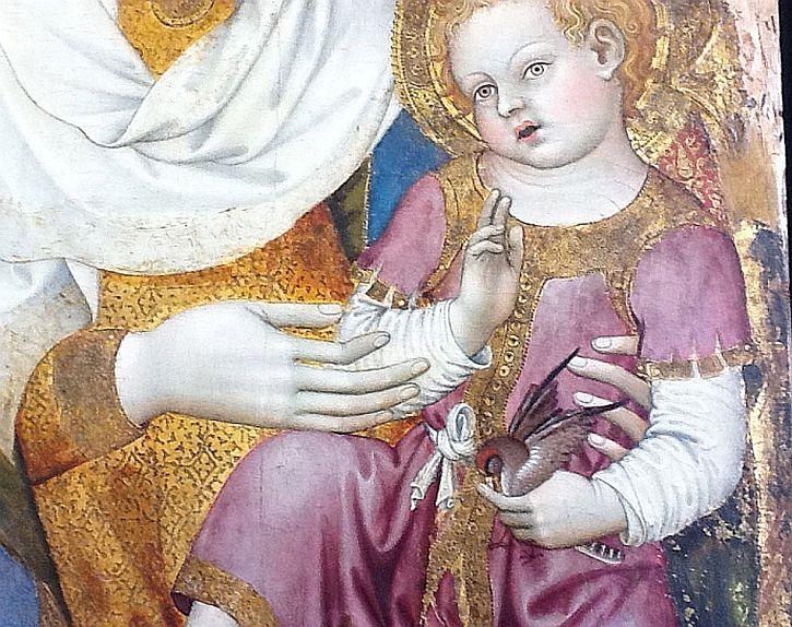 Taddeo di Bartolo Sienna , Virgin and Child, 13C