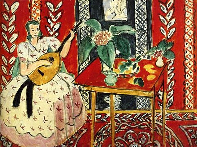 The Lute (Tapestry), 1946