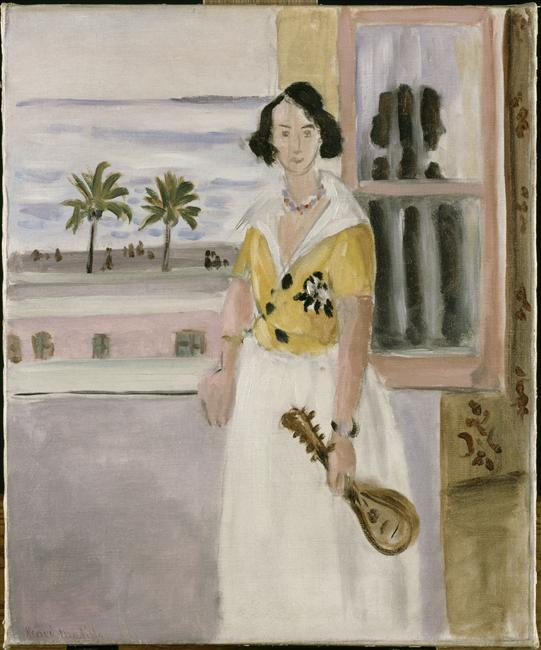 Woman with Mandolin, 1921