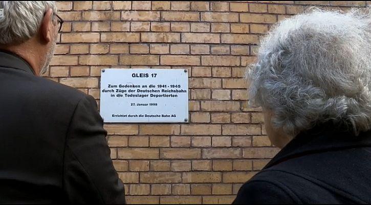 Berlin Grunewald Gleis 17 memorial 4