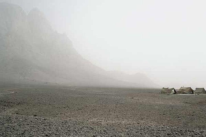 Camp Boundary by Paul Seawright