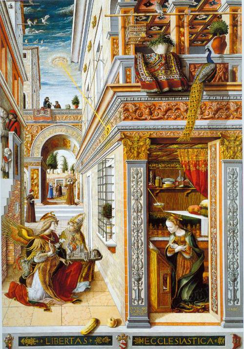 Carlo Crivelli, The Annunciation, 1486