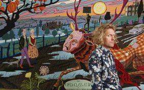 Grayson Perry with The Upper Class at Bay