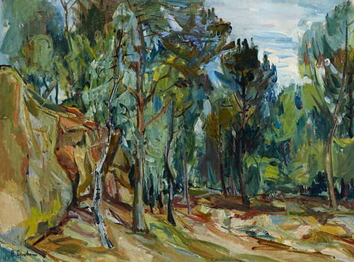 Henri Epstein, Forest of Rambouillet, c1931