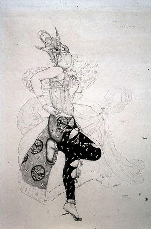 Leon Bakst, La Peri, 1911