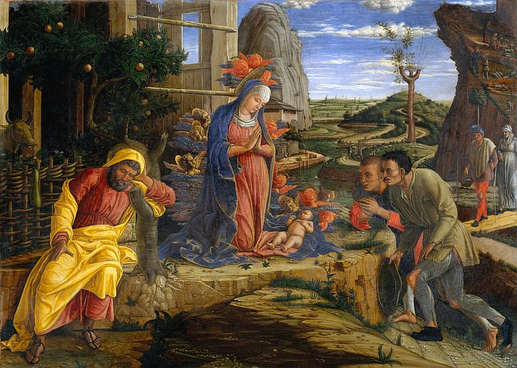 Mantegna's The Adoration of the Shepherds