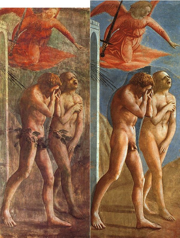 Masaccio's The Expulsion from the Garden of Eden