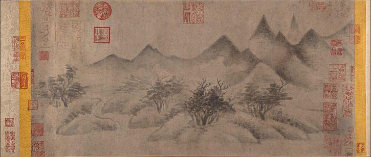 Mi Youren, Cloudy Mountains, 1140-50