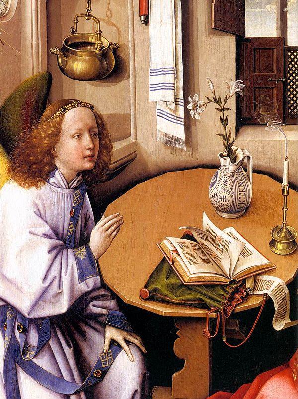 Robert Campin, Annunciation